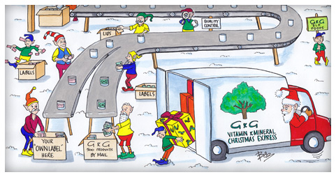 Cartooning and illustration for marketing and advertising bespoke business christmas card example reheart Images